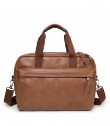 Cestovná taška EASTPAK BARTECH S Brownie Leather 16 l