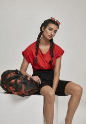Cestovná taška Urban Classics Sports Bag orange camo