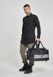 Čierna cestovná taška Urban Classics Traveller Bag black