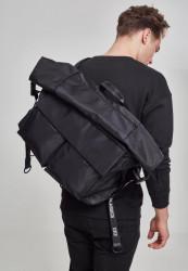 Čierny cestovný batoh Urban Classics Nylon XXL Traveller Bag