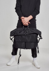 Čierny cestovný batoh Urban Classics Nylon XXL Traveller Bag #3