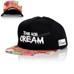Cocaine Life The Ice Cream Snapback Black - UNI