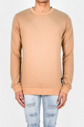Crewneck Sixth June Drunk And Loaded Camel Farba: Hnedá,