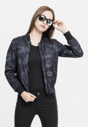 Dámska bombera URBAN CLASSICS Ladies Light Bomber Jacket Camo darkcamo