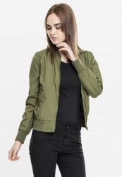 Dámska bombera Urban Classics Ladies Light Bomber Jacket olive