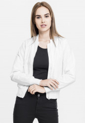 Dámska bombera Urban Classics Ladies Light Bomber Jacket white
