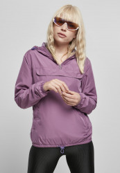 Dámska bunda URBAN CLASSICS Ladies Basic Pull Over Jacket duskviolet