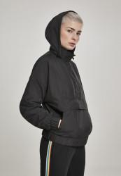 Dámska Bunda Urban Classics Ladies Panel Pull Over Jacket black