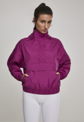 Dámska Bunda Urban Classics Ladies Panel Pull Over Jacket viola