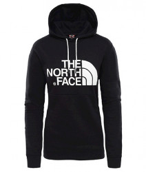 Dámska čierna mikina s kapucňou The North Face