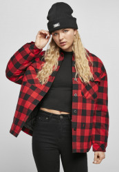 Dámska košeľa Urban Classics Ladies Flanell Padded Overshirt