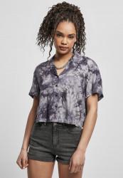 Dámska košeľa Urban Classics Viscose Tie Dye Resort