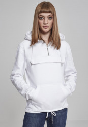 Dámska mikina bez zipsu URBAN CLASSICS Ladies Sweat Pull Over Hoody white