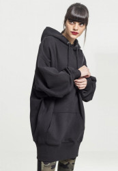 Dámska mikina URBAN CLASSICS Ladies Long Oversize Hoody black