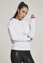 Dámska mikina URBAN CLASSICS Ladies Organic Hoody biela