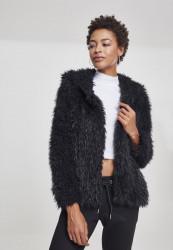 Dámska prechodná bunda s kapucňou URBAN CLASSICS Ladies Hooded Teddy Jacket
