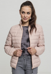 Dámska prechodná bunda URBAN CLASSICS Ladies Basic Down Jacket light rose