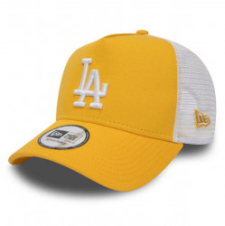 Dámska šiltovka New Era 9Forty Womens A Frame Trucker LA Dodgers Yellow