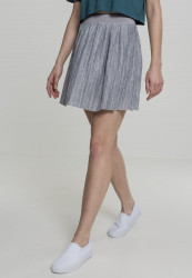 Dámska sukňa Urban Classics Ladies Ladies Jersey Pleated Mini Skirt grey