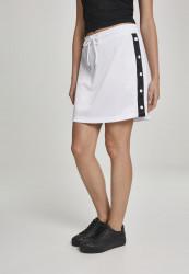 Dámska sukňa URBAN CLASSICS Ladies Track Skirt wht/blk/wht
