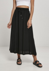 Dámska sukňa Urban Classics Ladies Viscose Midi Skirt black Pohlavie: dámske, Velikost: 5XL