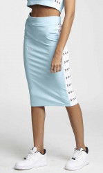 Dámska zelená sukňa 304 Clothing Farba: Zelená,