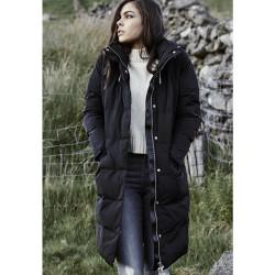 Dámska zimná bunda URBAN CLASSICS LADIES BUBBLE COAT BLACK