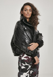 Dámska zimná bunda URBAN CLASSICS Ladies Vanish Oversized Diamond Quilt Jacket black