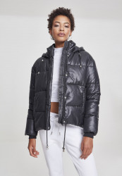 Dámska zimná bunda URBAN CLASSICS Ladies Vanish Puffer Jacket black