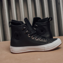 Dámske čierne kotníkové tenisky Converse Chuck Taylor Wp Farba: Čierna, #5