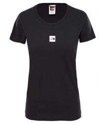 Dámske čierne tričko s krátkym rukávom The North Face