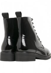 Dámske členkové topánky Urban Classics Lace Boot black #2