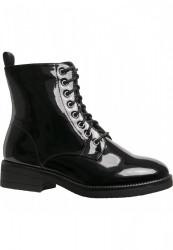 Dámske členkové topánky Urban Classics Lace Boot black #3