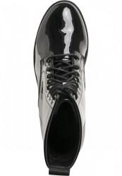 Dámske členkové topánky Urban Classics Lace Boot black #5