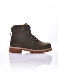 Dámske khaki topánky na zimu Dorko WOODSMAN Farba: Khaki,