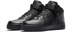 Dámske kotníkové tenisky Nike WMNS Air Force 1 Mid `07 LE Black #1