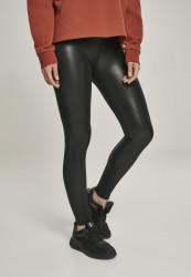 Dámske legíny URBAN CLASSICS Ladies Faux Leather Leggings black
