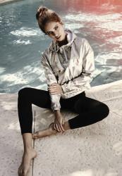 Dámske legíny URBAN CLASSICS Ladies High Waist Jersey Leggings čierne