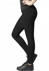 Dámske legíny URBAN CLASSICS Ladies Jersey Leggings čierne