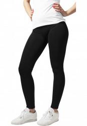 Dámske legíny URBAN CLASSICS Ladies PA Leggings čierne