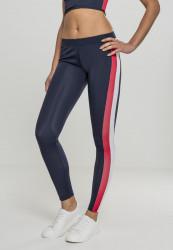 Dámske legíny URBAN CLASSICS Ladies Side Stripe Leggings nvy