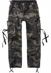 Dámske nohavice BRANDIT Ladies M-65 Cargo Pants Farba: darkcamo, Grösse: 35