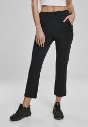 Dámske nohavice URBAN CLASSICS Ladies Soft Interlock Pants black