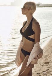 Dámske plavky Urban Classics Ladies Bikini black