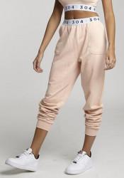 Dámske ružové tepláky 304 Clothing