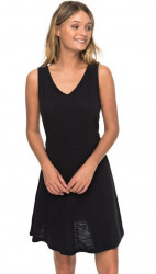 Dámske šaty Roxy Buying Time true black