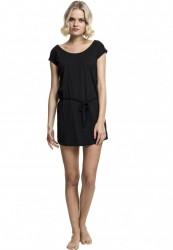 fd0c7f4616ed Dámske šaty URBAN CLASSICS Ladies Slub Jersey Dress čierna