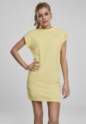 Dámske šaty URBAN CLASSICS Ladies Turtle Extended Shoulder Dress vintagesun