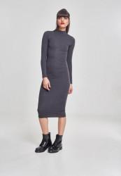 f46db17ae Dámske šaty URBAN CLASSICS Ladies Turtleneck L/S Dress