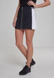 Dámske šaty URBAN CLASSICS Ladies Zip College Skirt